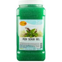 Spa Redi Pedi Scrub Gel Mint und Eucalyptus 3,785Lit.
